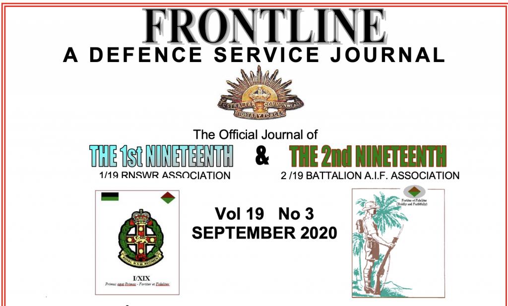 Frontline Vol 19 No 3 September 2020